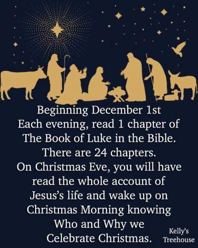 Beginning December 1st?